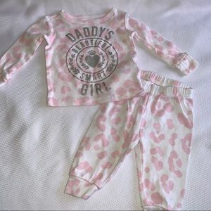 The Children's Place Baby Jogger Outfit, 0/3 mo